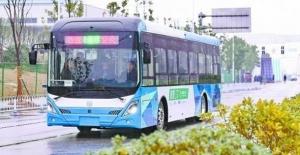 Sürücüsüz Akıllı Otobüs Hattı Orta Çin'de Deneme Sürüşüne Başladı