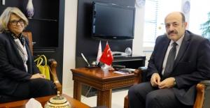 YÖK Başkanı Saraç Portekiz Büyükelçisi İle Görüştü