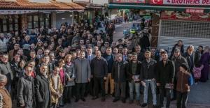 CHP Kuşadası Belediye Başkan Adayı Günel'in Esnaf Ziyareti Yoğun İlgi Gördü