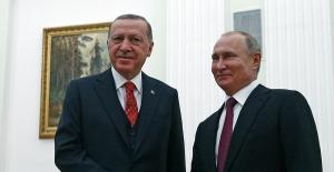 Cumhurbaşkanı Erdoğan İle Putin Baş Başa Görüşmesi Öncesinde Açıklama Yaptı