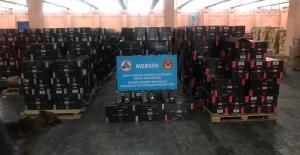 Mersin Limanı'nda 1 Milyon 279 Bin Paket...