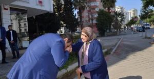 Başkan Çetin, Esnafın Halini Sordu