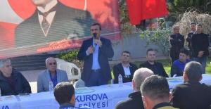 """Başkan Çetin: """"Türkiye'de Asgari Ücretin En Yüksek Olduğu Yer Çukurova'dır"""""""