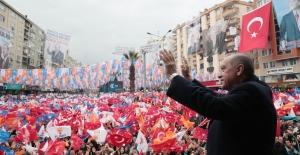 """""""Bugün Suriye Topraklarından Kaçanların Geri Döndükleri Yegâne Yerler Türkiye'nin Güvenli Hâle Getirdiği Yerlerdir"""""""