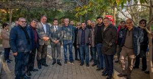 CHP Kuşadası Belediye Başkan Adayı Ömer Günel Uydukent'i Ziyaret Etti
