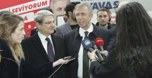"""Mansur Yavaş: """"Ankara Değişime İnanmış"""""""