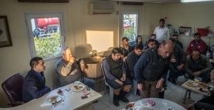 Ömer Günel Kademe Amirliği Personeli İle Kahvaltıda Biraraya Geldi