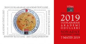 TÜBA Uluslararası Akademi Ödülleri 2019...