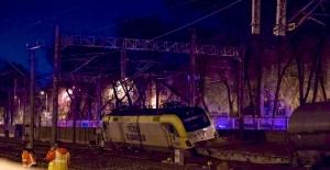 Ankara'da Yakıt Taşıyan Tren Raydan Çıktı