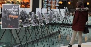 """Fotoğraflarla """"Çanakkale Zaferi Sergisi"""" Trump AVM'de..."""