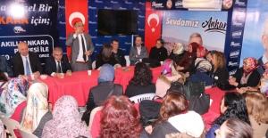 İYİ Parti Ankara Milletvekilleri Beypazarı'nı Ziyaret Etti