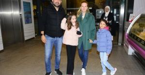 Kosif Ailesi Hafta Sonu Kanyon'da Objektiflere Yansıdı