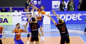 Kupa Voley'in İlk Finalisti Galatasaray