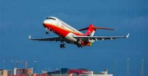 Çin Yapımı ARJ21 Uçakları 10 Bin Saat Güvenli Şekilde Uçtu