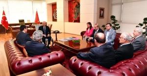 DP Genel Başkanı Uysal, CHP Genel Başkanı Kılıçdaroğlu'na Geçmiş Olsun Ziyaretinde Bulundu
