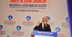 """Türk Eğitim-Sen Genel Başkanı Geylan: """"Varlığımızı Türk Varlığına Adıyoruz"""""""