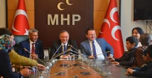 Türk Federasyonları MHP Meclis Grubunu Ziyaret Etti