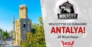 Wolfcity Turnuvası Antalya'dan Start Alıyor