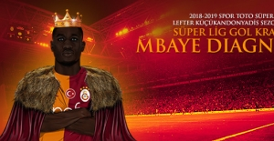 2018-2019 Sezonu Gol Kralı Mbaye Diagne!
