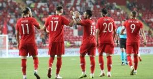 A Milli Futbol Takımı Özel Maçta Yunanistan'ı 2-1 Mağlup Etti