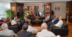 """Başkan Çetin: """"Esnafla Gönül Birliğimiz Var"""""""