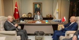 Başkan Yaşar'dan Akşener'e Teşekkür Ziyareti