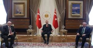 Cumhurbaşkanı Erdoğan, Kanada Senatosu Başkanı Furey'i Kabul Etti