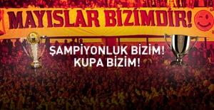 Galatasaray'da Yedinci Kez Çifte Şampiyonluk!