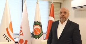 """HAK-İŞ Genel Başkanı Arslan: """"İsrail, Özgür Basını Susturamayacaktır"""""""