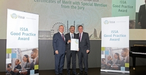 ISSA'dan Sosyal Güvenlik Kurumuna Ödül