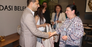 Kardeş Şehir Sinaia Heyetinden Başkan Ömer Günel'e Ziyaret