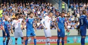 A Milli Futbol Takımımız İzlanda'ya 2-1 Mağlup Oldu