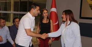 Başkan Çerçioğlu'ndan Kuşadası Belediyesi'ne Ziyaret