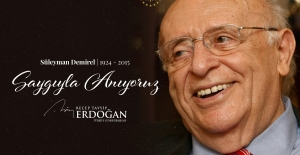Cumhurbaşkanı Erdoğan'dan Demirel Mesajı
