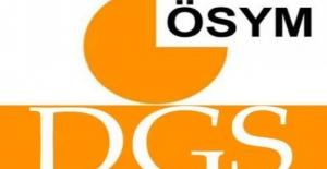 DGS Sınava Giriş Belgeleri Açıklandı