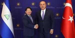 Bakan Çavuşoğlu: Nikaragua Ankara'da Büyükelçilik Açacak