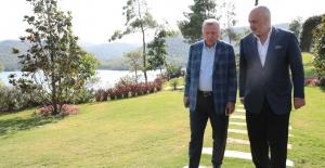 Cumhurbaşkanı Erdoğan, Arnavutluk Başbakanı Rama İle Görüştü