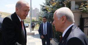 Cumhurbaşkanı Erdoğan, Bahçeli İle Bir Araya Geldi