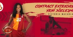 Galatasaray, Victoria Macaulay İle Sözleşme Yeniledi