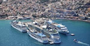 Kuşadası Ve Bodrum Kruvaziyer Limanlarına Yeşil Liman Sertifikası