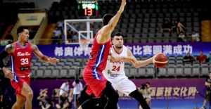 A Erkek Milli Takımımız Atlas Turnuvası'nda Porto Riko'yu 71-64 Mağlup Etti