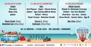 Azmak Festivali'nde Müzik Şenliği Yaşanacak