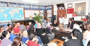 Başkan Çetin'den Yurt Mahallesi'ne Pazar Yeri Müjdesi