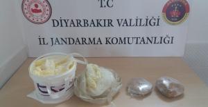 Diyarbakır'da 1,205 Kg Esrar Maddesi Ele Geçirildi