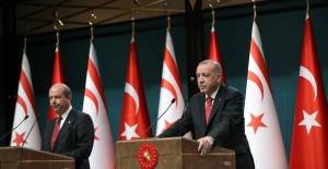 """""""Doğu Akdeniz'de Türkiye'yi ve KKTC'ni Yok Sayan Hiçbir Proje Hayata Geçirilemez"""""""