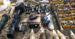 Pençe-2 Harekâtı'nda Çok Sayıda Silah, Mühimmat Ve Yaşam Malzemesi Ele Geçirildi