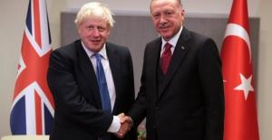 Cumhurbaşkanı Erdoğan, İngiltere Başbakanı Boris Johnson İle Görüştü