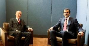 Cumhurbaşkanı Erdoğan, Katar Emiri Şeyh Temim Bin Hamed Al Sani İle Görüştü