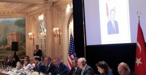 Cumhurbaşkanı Erdoğan, New York'ta Doğu-Batı Enstitüsü'nün Toplantısına Katıldı