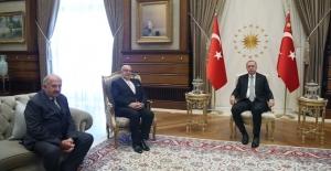 Cumhurbaşkanı Erdoğan, Surp Pırgiç Ermeni Hastanesi Vakfı Yönetim Kurulu Başkanı Şirinoğlu'nu Kabul Etti